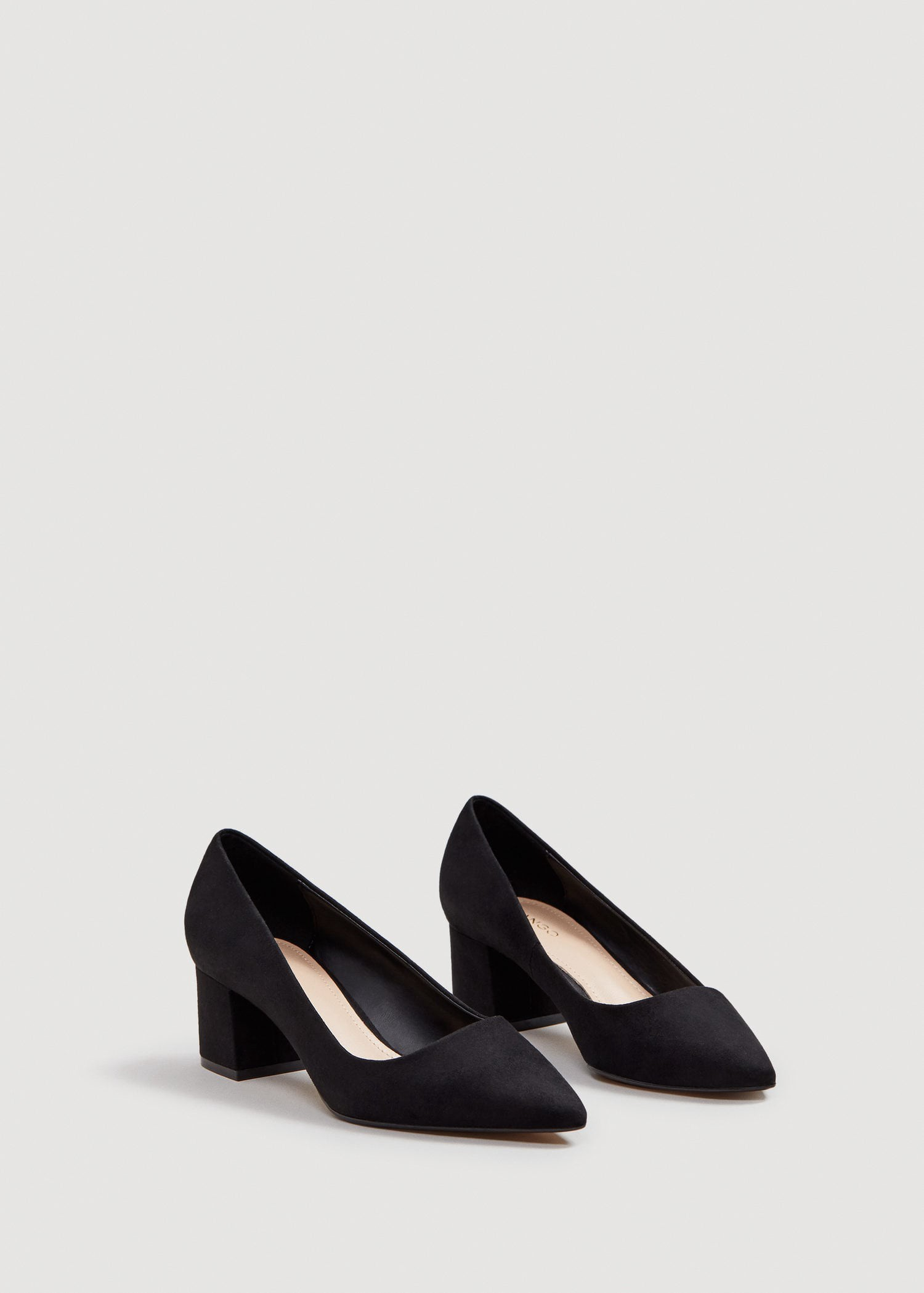 babdf90d8a3 Pointed toe pumps by Mango in 2019
