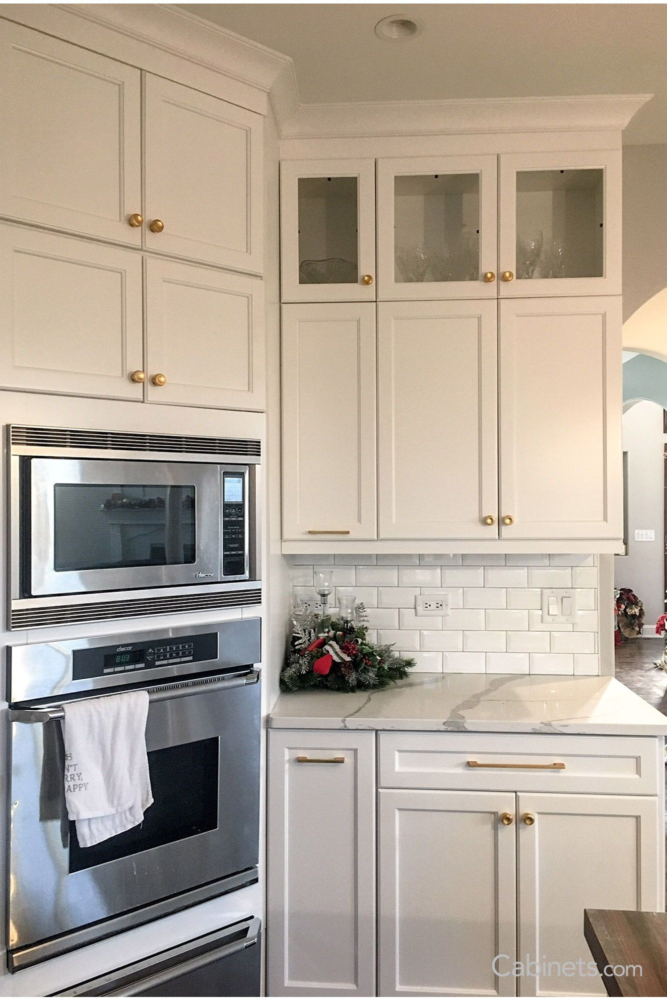 Are White Kitchen Cabinets Out Of Style We don't think that bright white cabinets will ever go out of