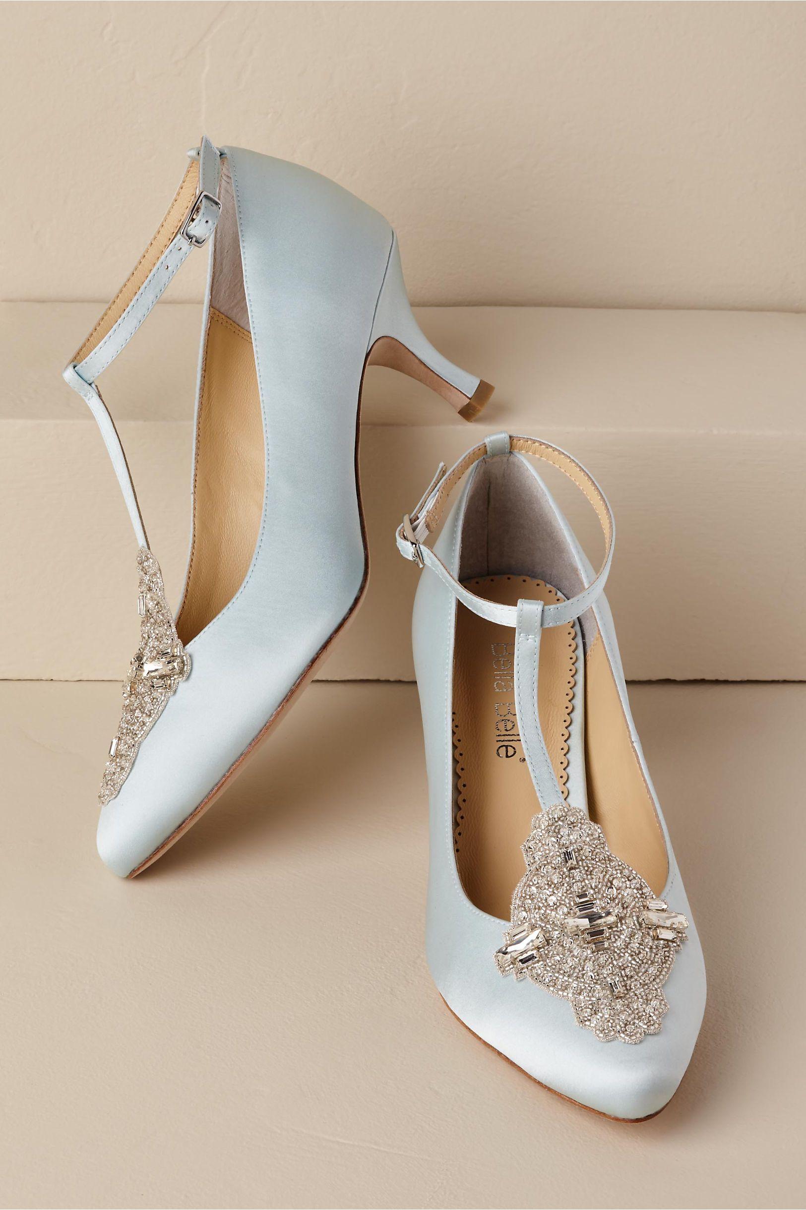 Bhldn S Bella Belle Annalise Heels In Blue Best Bridal Shoes Bridal Shoes Wedding Shoes