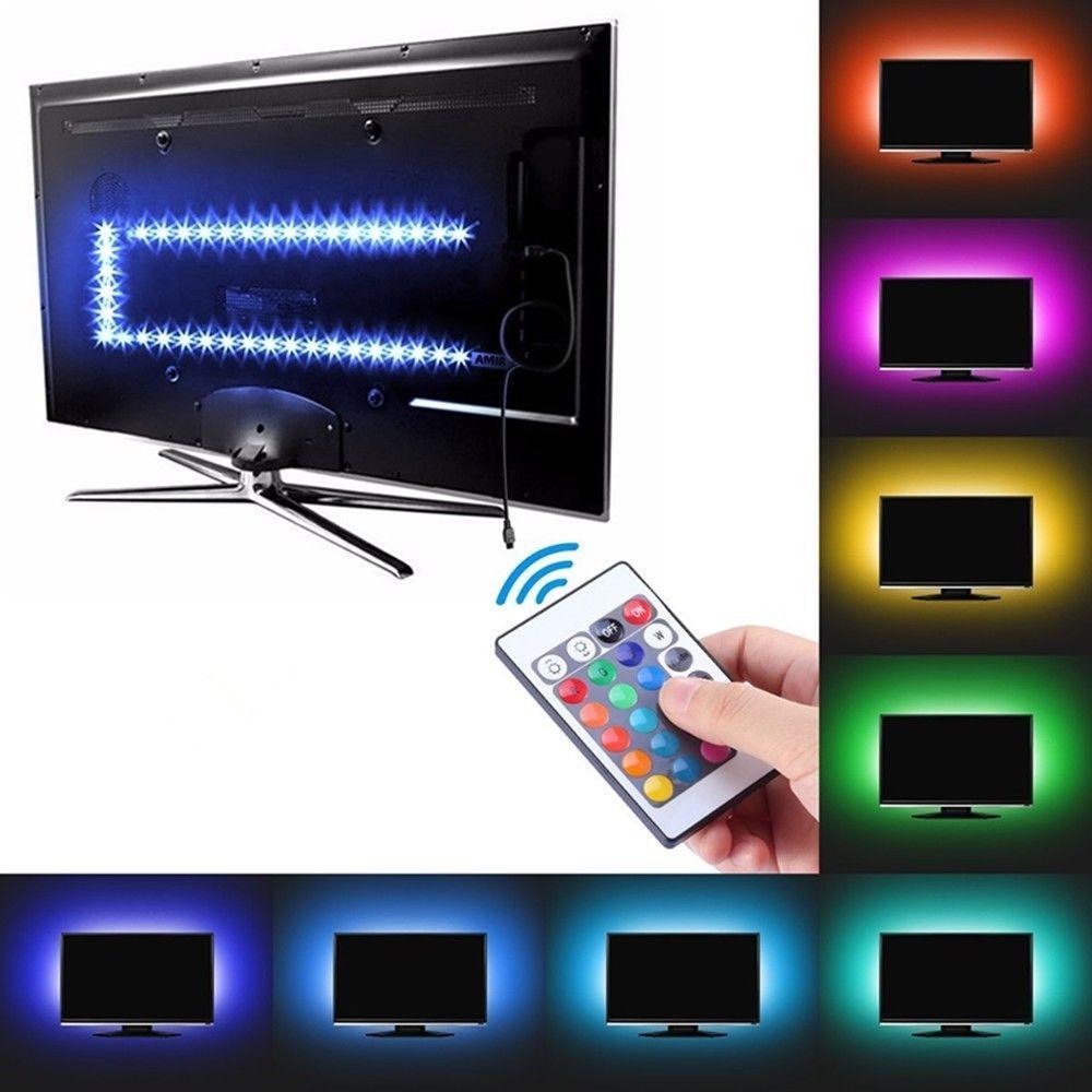 LED Strip Lighting USB RGB 5050 for TV Computer Background