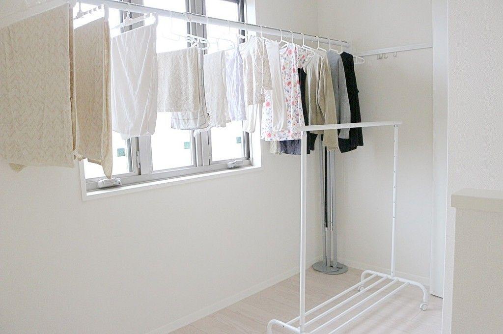 もうすぐ梅雨がやってくる 我が家の洗濯動線 部屋干しバージョン