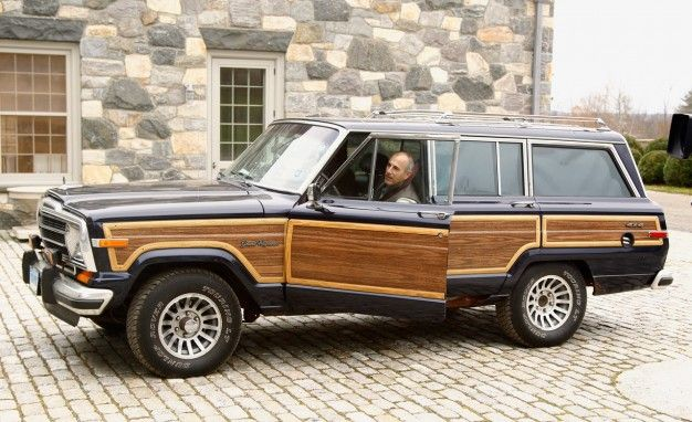 Matt Lauer In A Wagoneer And An Article Announcing Juicy But