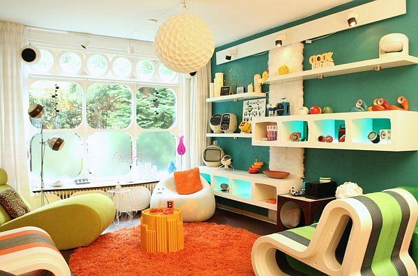 Retro Living Room Ideas And Decor Inspirations For The Modern Home Retro Interior House Design Interior Design