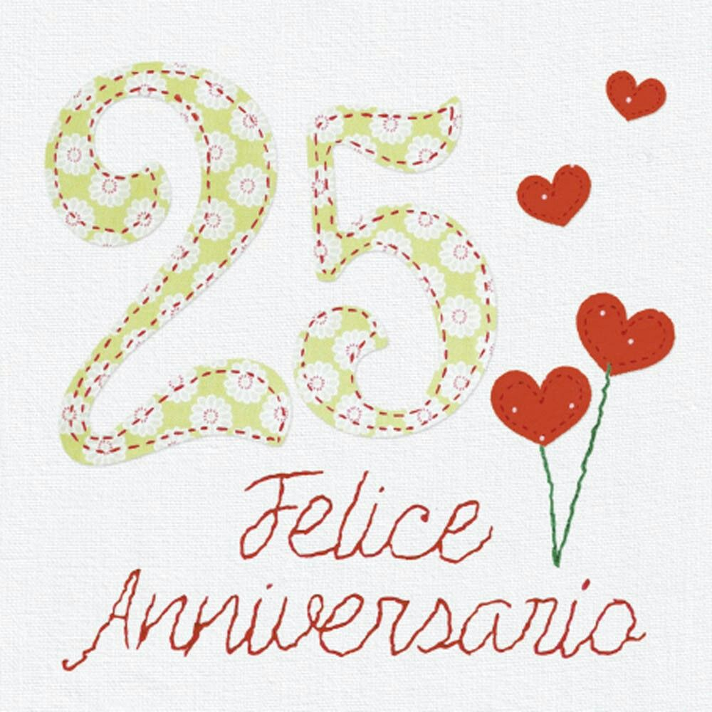 Felice Anniversario Felice Anniversario 25 Anniversario Di Matrimonio Anniversario Di Matrimonio