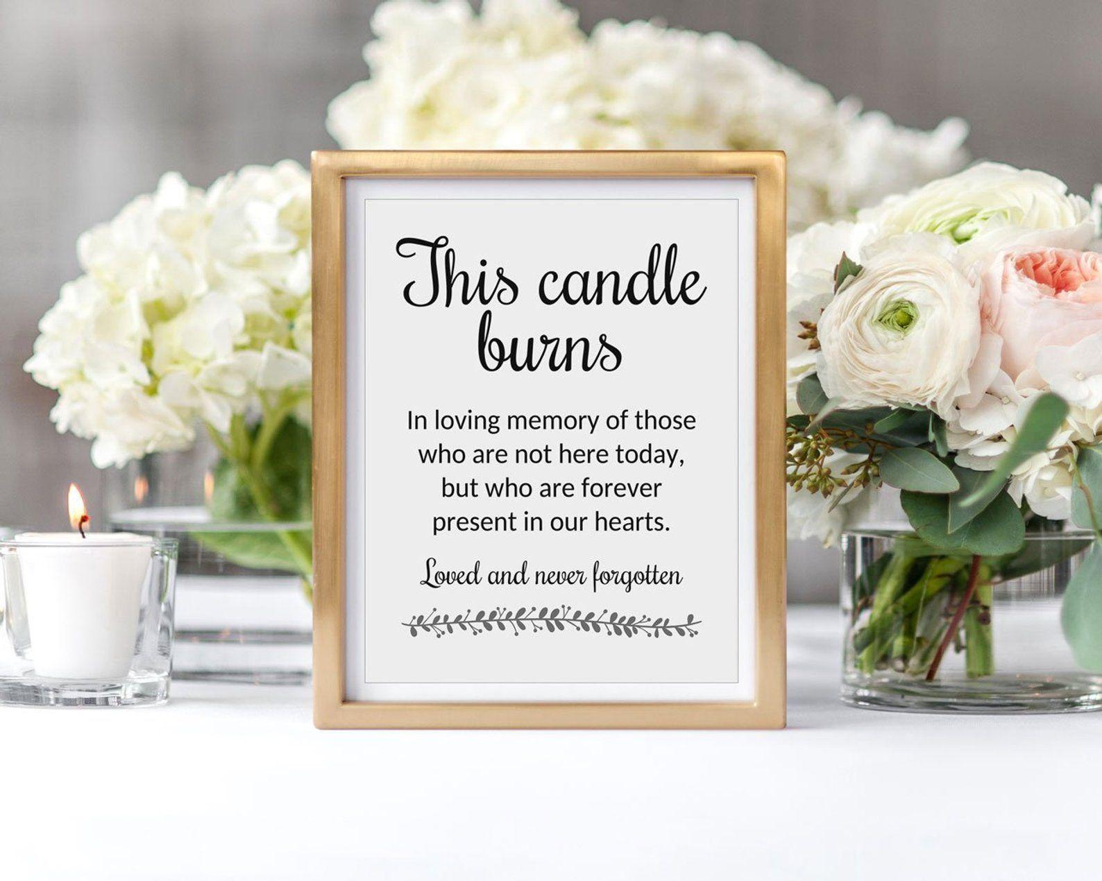 40++ Wedding memorial sign etsy ideas in 2021