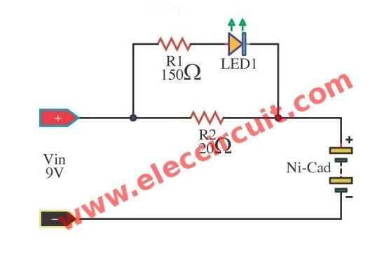Circuit Diagram Of 9v Battery Charger - Wiring Diagram Work on
