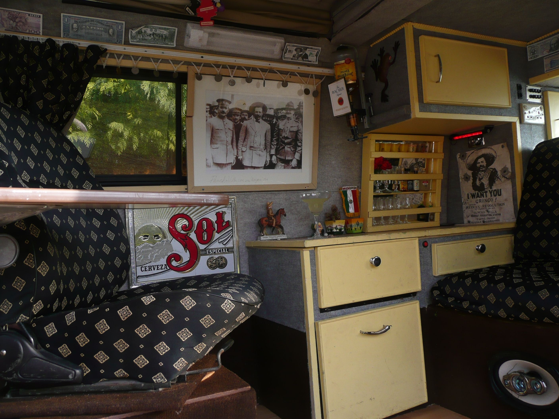 Volkswagen bus vanagon take a look volkswagon new interior run and - Vanagon Camper Interior Google Search