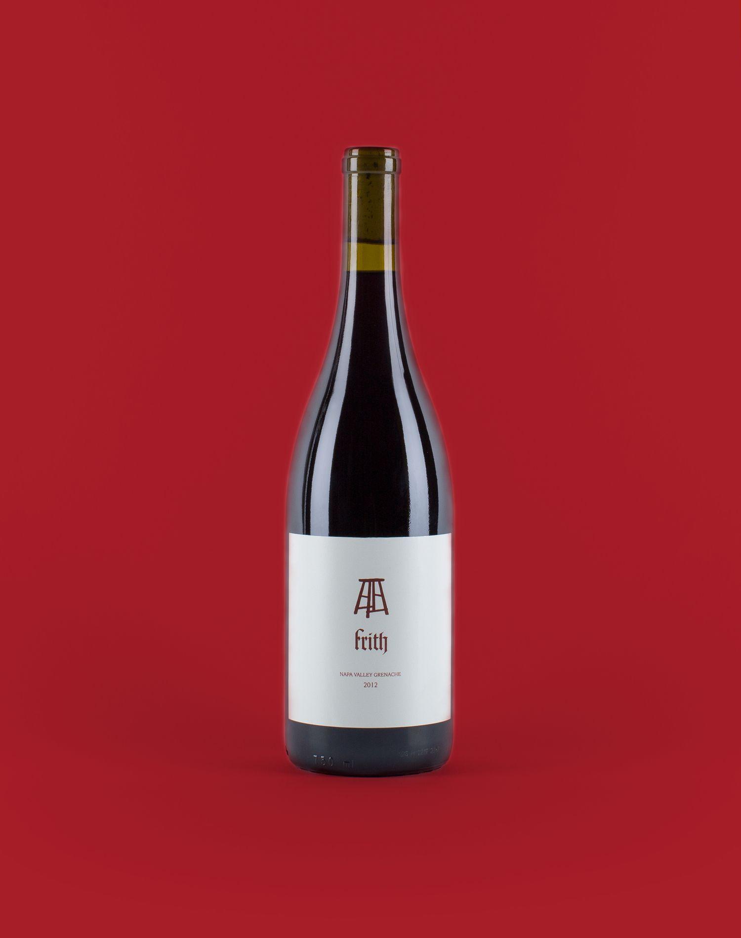 2014 Napa Valley Grenache Frith Wines Grenache Wines Wine Cooler