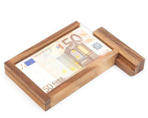 bo te cadeau d argent magique en bois casse t te. Black Bedroom Furniture Sets. Home Design Ideas
