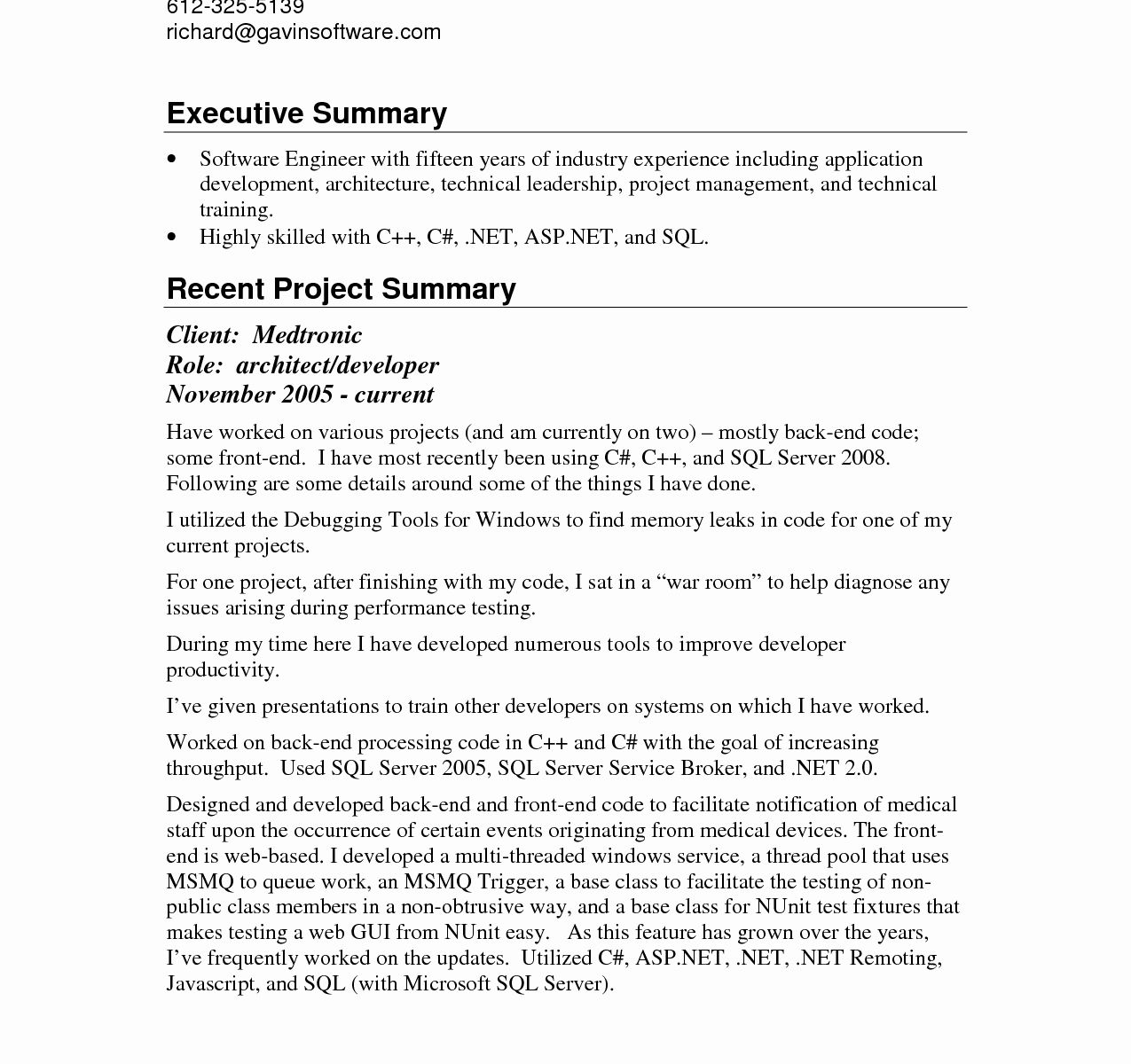 Executive Summary Sample for Proposal Fresh Business Plan