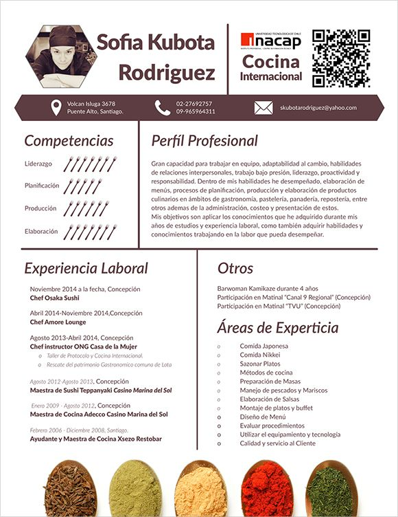 Chef Resume Templates \u2013 14+ Free Samples, Examples, PSD Format
