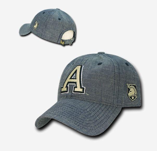 ARMY West Point United States Military Academy Curve Bill Denim Baseball Cap  Hat  WRepublic  BaseballCap f786aef6a2