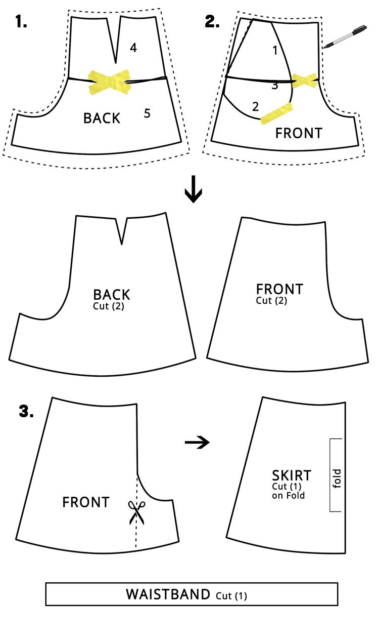 Women\'s Skort DIY | Costura, Molde y Patrones