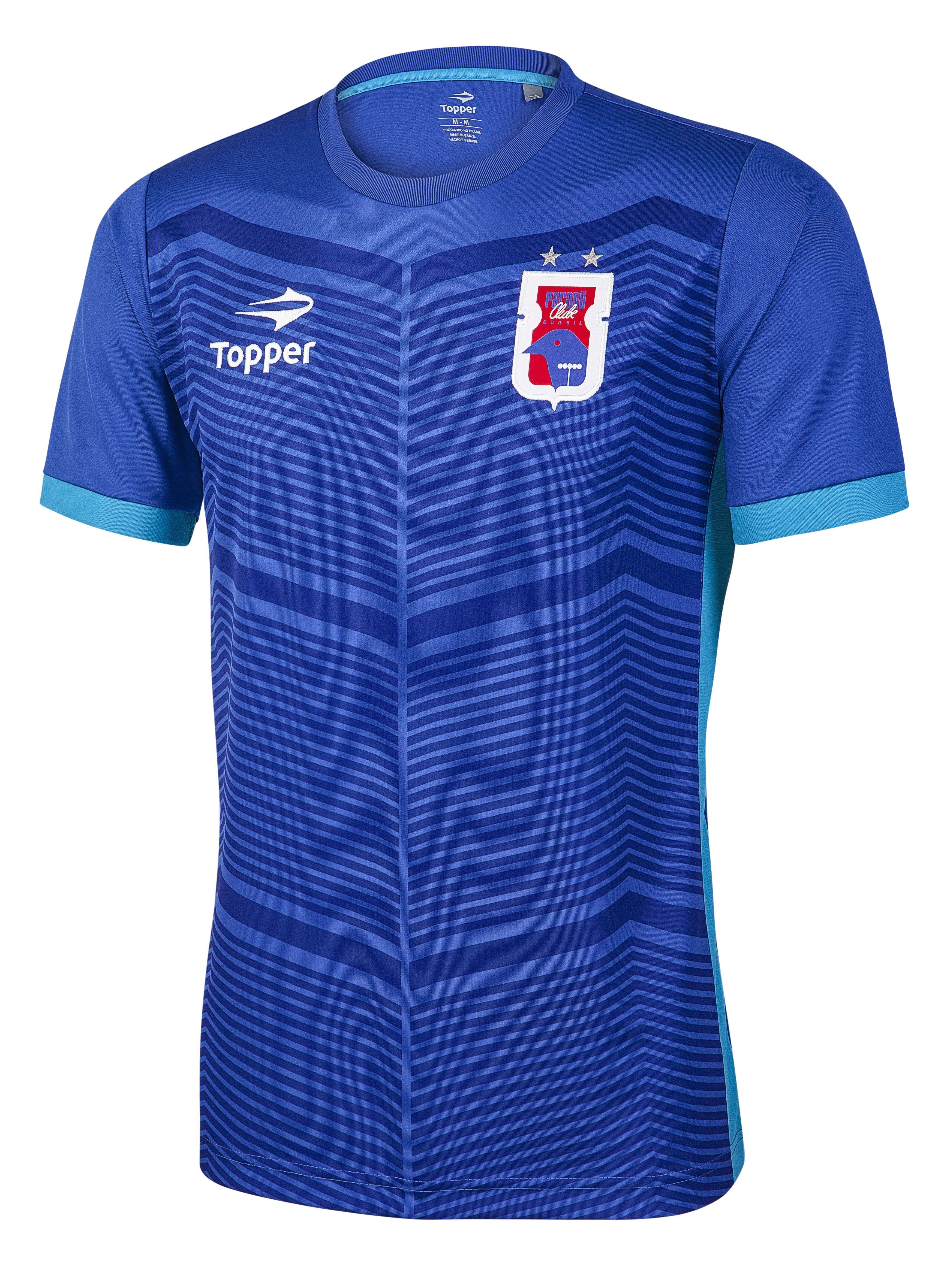 Camisas de treino – Os uniformes de treino do Paraná Clube também foram  inspirados no pinhão 899b825554a52