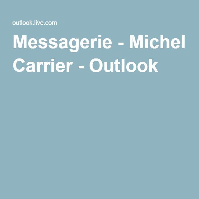 Messagerie - Michel Carrier - Outlook
