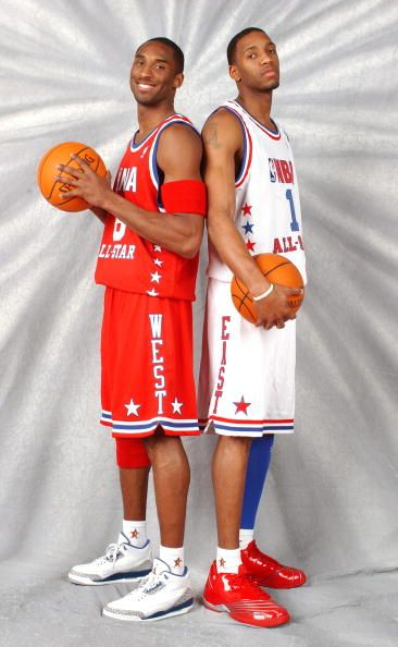 bbcad2b45 Kobe and Tracy Mcgrady All Star Picture 2003