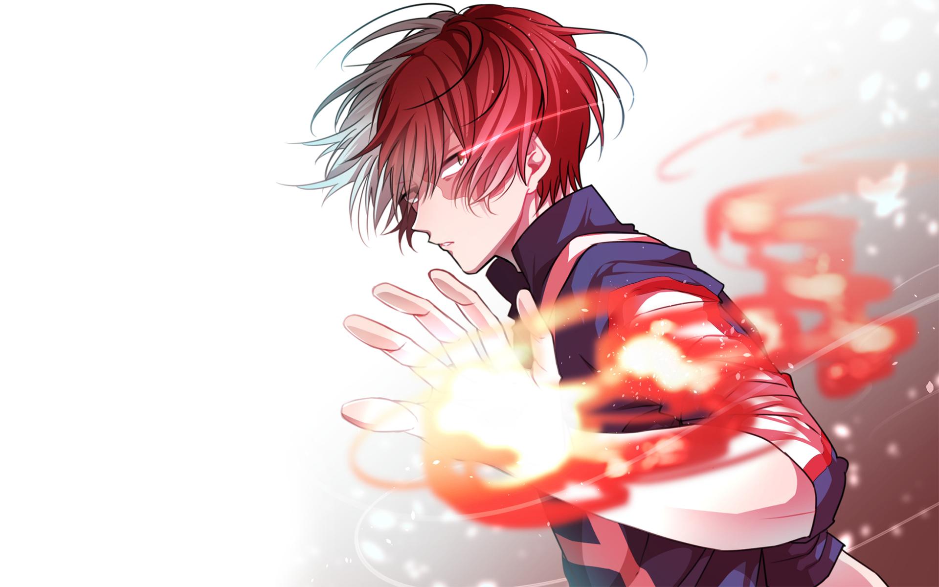 Anime My Hero Academia Shouto Todoroki Wallpaper My Hero