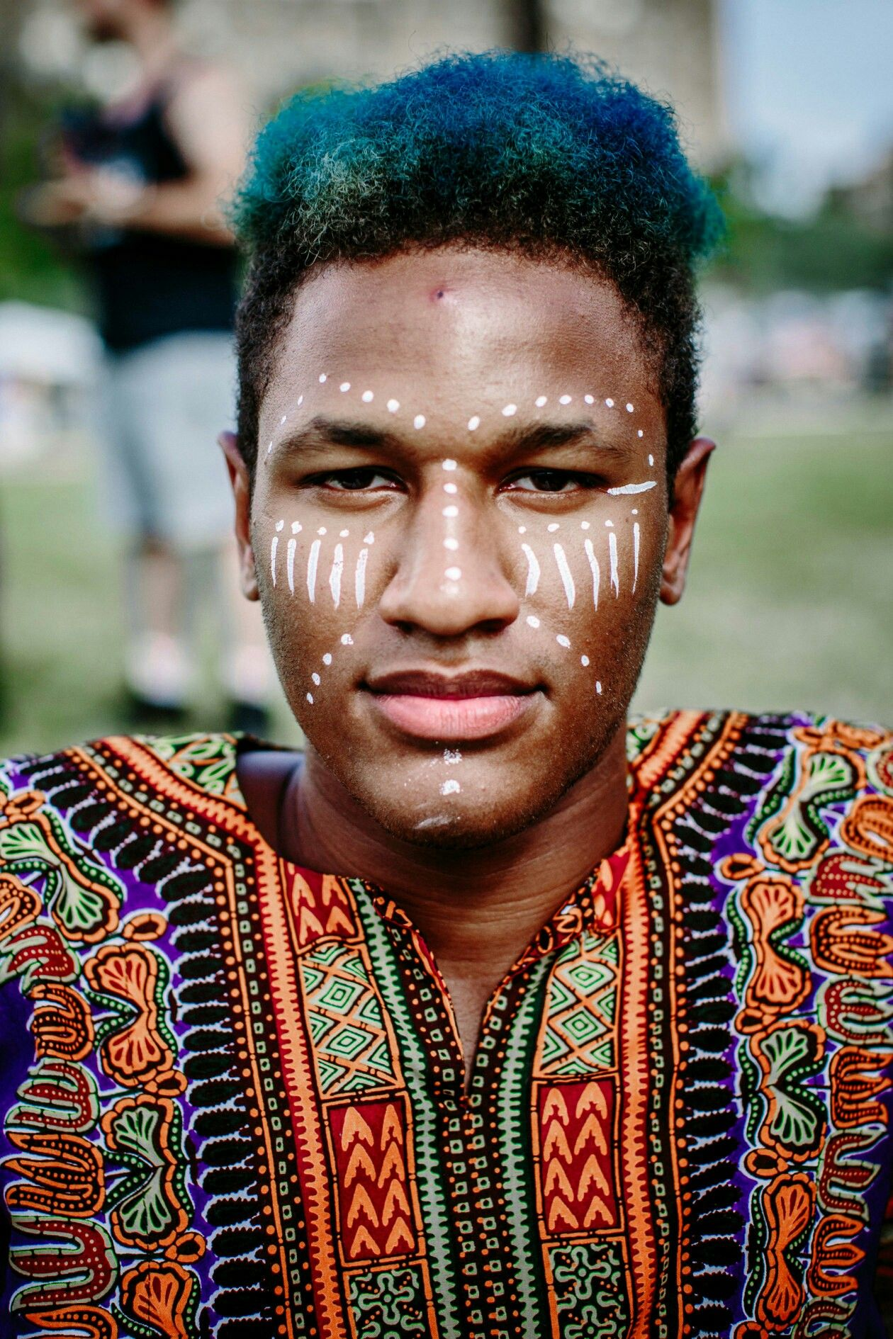 African Tribal Face Paint : african, tribal, paint, African, Paint, Ideas