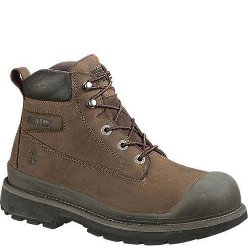 b714771fb17 W04661 Wolverine Men's Crawford Safety Boots - Brown | Wolverine ...