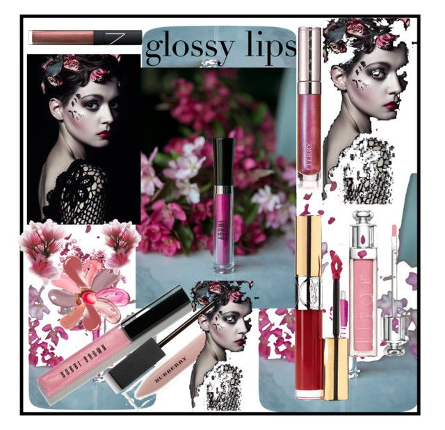 """""""A glossy lip is always sensuous and magnetic!🐩"""" by onesweetthing ❤ liked on Polyvore featuring beauty, Tom Ford, Chantecaille, NARS Cosmetics, Kevyn Aucoin, Yves Saint Laurent, Bobbi Brown Cosmetics, Christian Dior, By Terry and Burberry"""