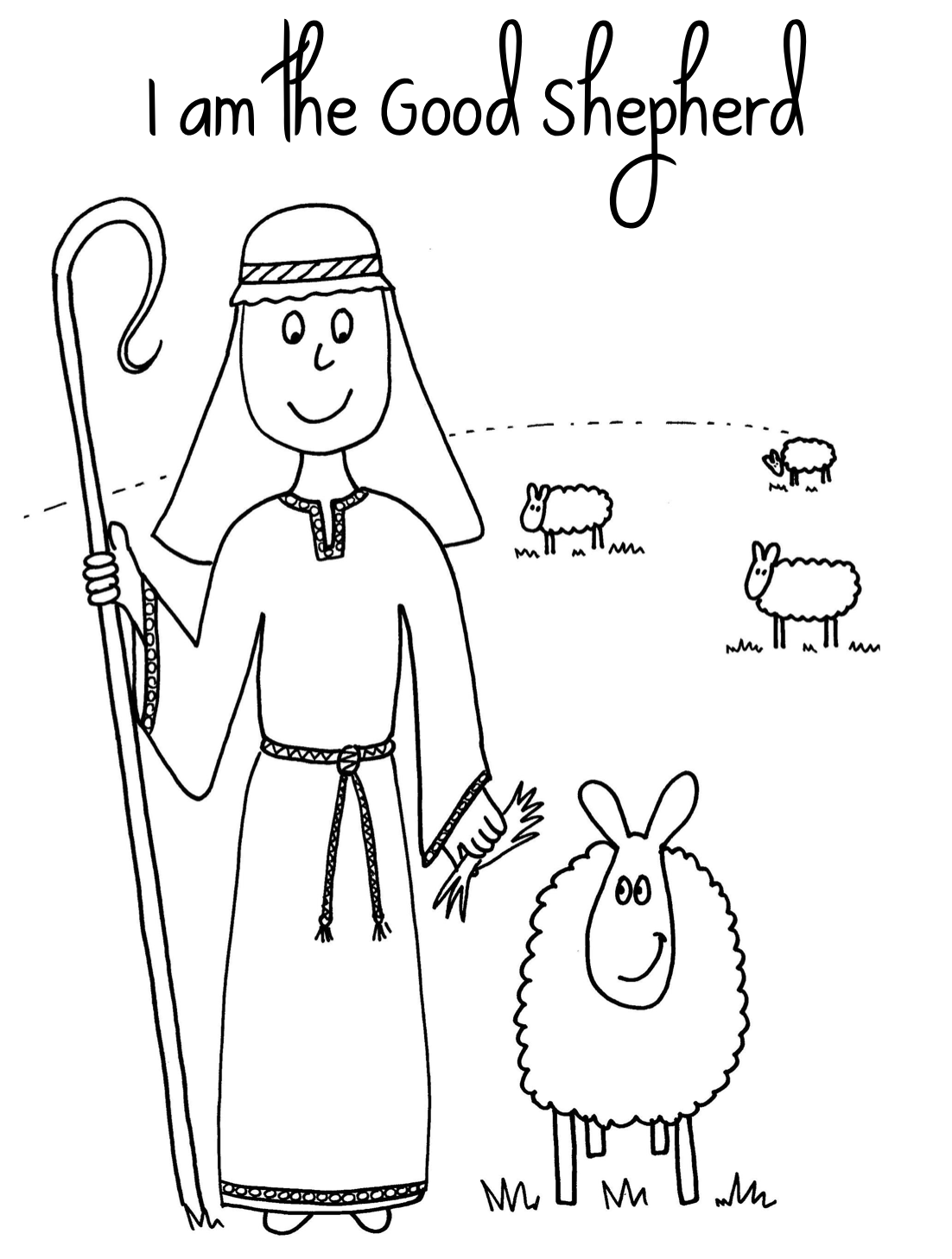 Coloring Pages Jesus The Good Shepherd Coloring Pages 1000 images about the lost sheepjesus is good shepherd on pinterest coins maze and colouring pages