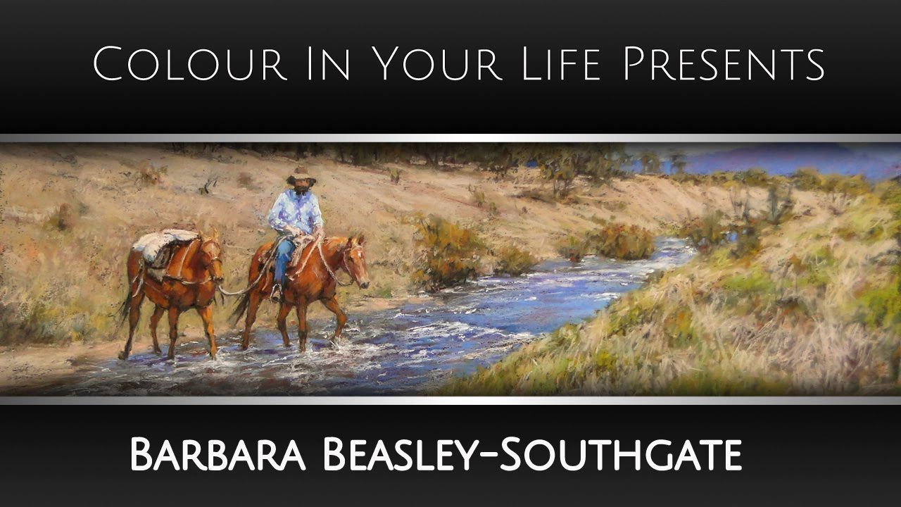 How to Create Trees in Pastels with Barbara Beasley-Southgate | Colour I...