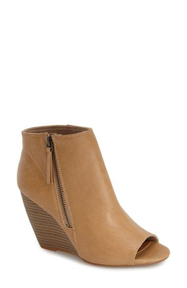 847585f56c5 Free shipping and returns on BC Footwear  Rebellion  Peep Toe Wedge Bootie  (Women) at Nordstrom.com. A stacked wedge heel grounds a casually  sophisticated ...