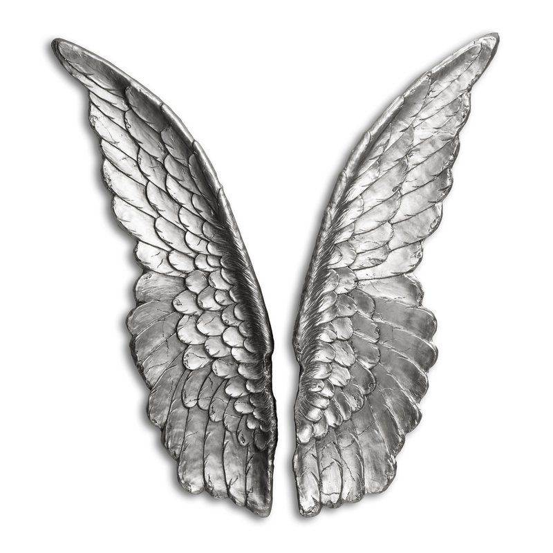 2 Piece Angel Wings Wall Décor Set Angel Wings Wall Decor Angel Wings Wall Wing Wall