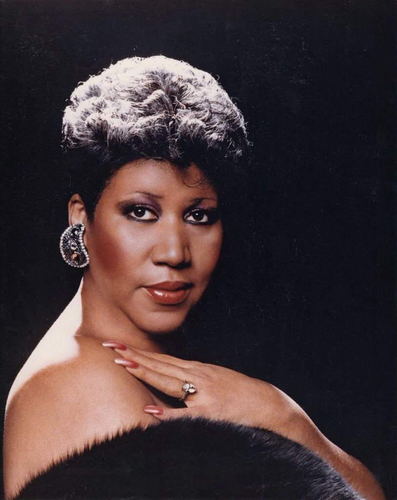 """Aretha Franklin (circa 1987) born March 25, 1942, """"The Queen of Soul"""" an American singer and musician. Franklin began her career singing gospel at her father, minister C. L. Franklin's church as a child. Franklin has recorded a total of 88 charted singles on Billboard, including 77 Hot 100 entries and twenty number-one R&B singles, becoming the most charted female artist in the chart's history. Franklin has won a total of 18 Grammy Awards and is one of the best-selling female artists of all ti"""