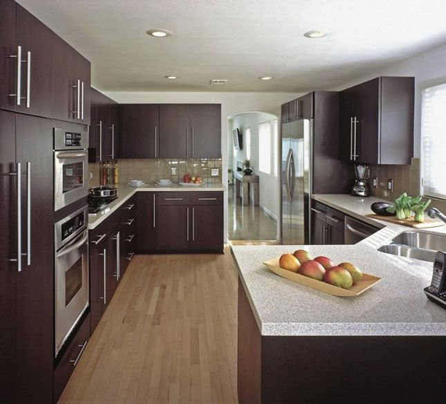 Slab Or Flat Panel Kitchen Cabinets. Www