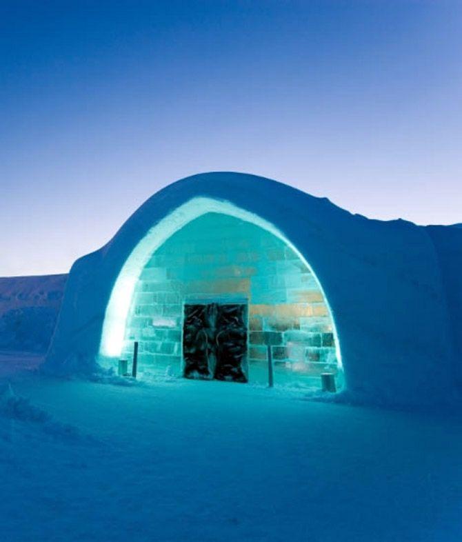 Ice Hotels! Brrrr.....