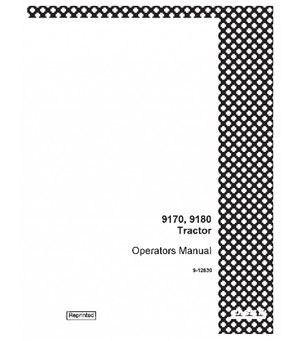 CASE IH 9170 9180 TRACTOR OPERATORS MANUAL DOWNLOAD