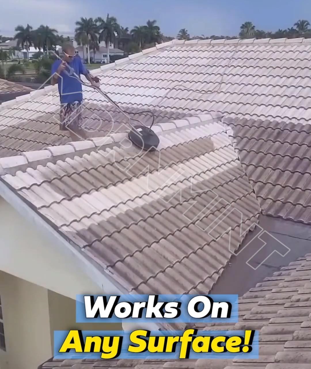 Hydromop Surface Cleaner Save Time Pressure Washing Video In 2020 Backyard Useful Life Hacks Diy Home Repair