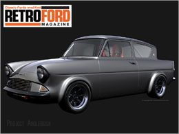 Retro Ford Anglia Wallpaper Ford Anglia Car Ford Ford