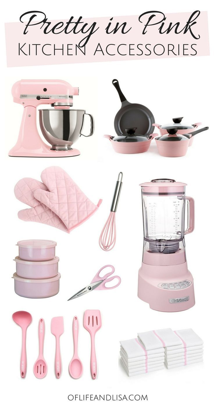 11 Must-Have Kitchen Decor and Appliances for Pink Lovers | Of Life + Lisa