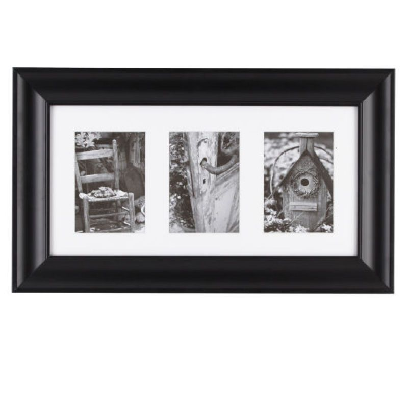 Black 3 Opening Gallery Frame By Studio Decor Studio Decor Gallery Frame Collage Frames