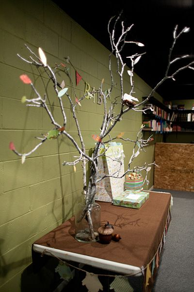 Woodland Theme Baby Shower   The Crafty Dough Puncher: Forest Themed Baby  Shower