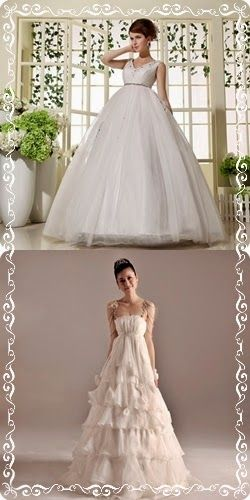 331975f6eab61 Princess Style Maternity Wedding Gown | Get the best style for pregnant  bride on http: