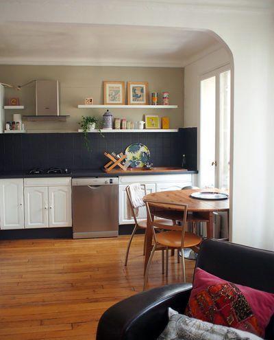 Repeindre une cuisine : 300 euros pour un relooking réussi #homestagingavantapres