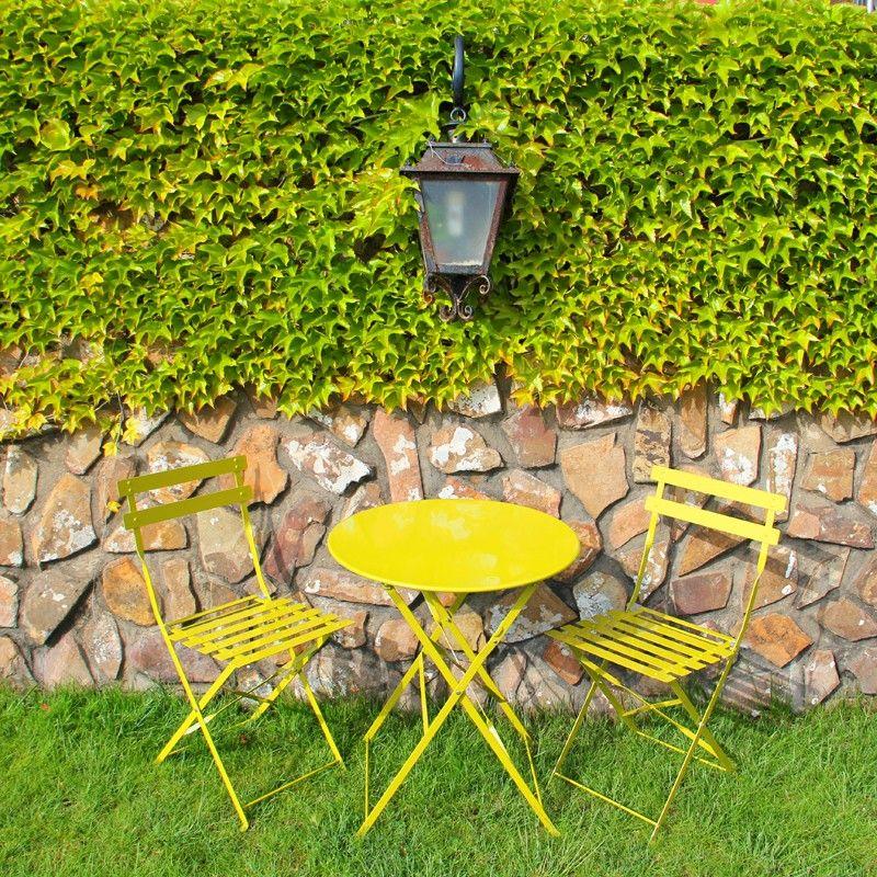 Muebles de jardin mesas y sillas de colores by nuryba for Jardin 7 colores bernal