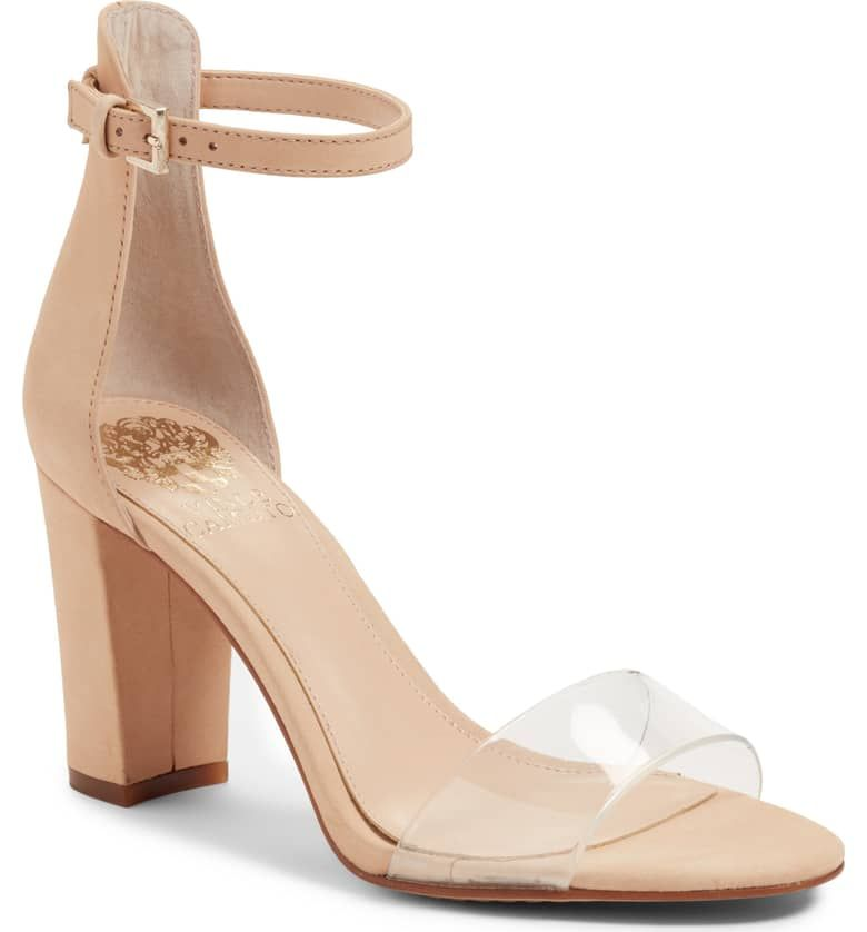 dceadcf7c1b Corlina Ankle Strap Sandal, Main, color, BEAUTY/ CLEAR | Wedding in ...