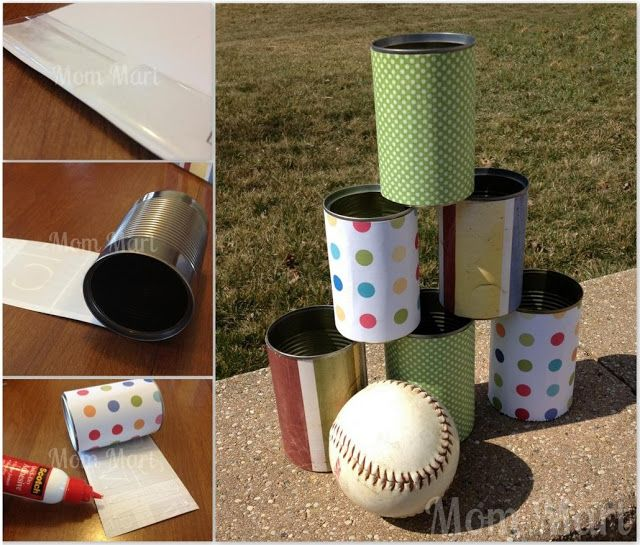 How To Make A Circus Carnival Tin Can Toss
