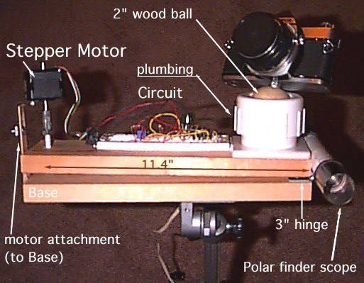 Barndoor construction telescope building pinterest for Motorized barn door tracker