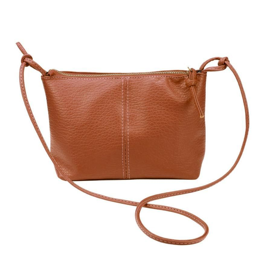 Handbags Baguette Lady Faux Leather Single Strap Totes Solid Zipper Satchel Shoulder Bag Messenger Tote Handbag sacoche homme