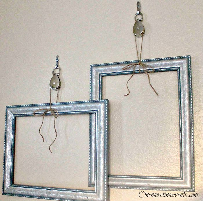 Pulley Picture Frame Hangers | Picture frame hangers, Pulley and Hanger