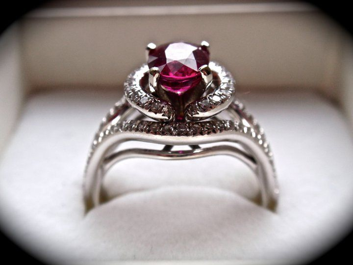 6,800 ring! This ring was won in a video contest we did
