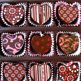 how they look valentine chocolate chocolate truffles valentines day chocolates pinterest