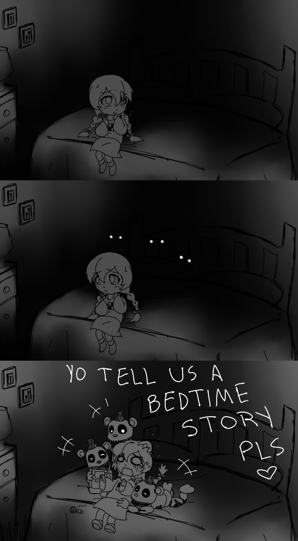 Mini-Freddies can't sleep either...