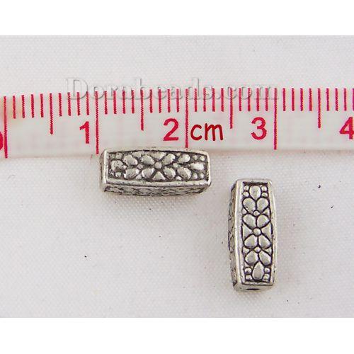 rectangular sliver metal silver 10 mm in bulk