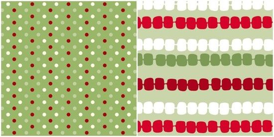 free holiday printables modern red and white patterned papers ...